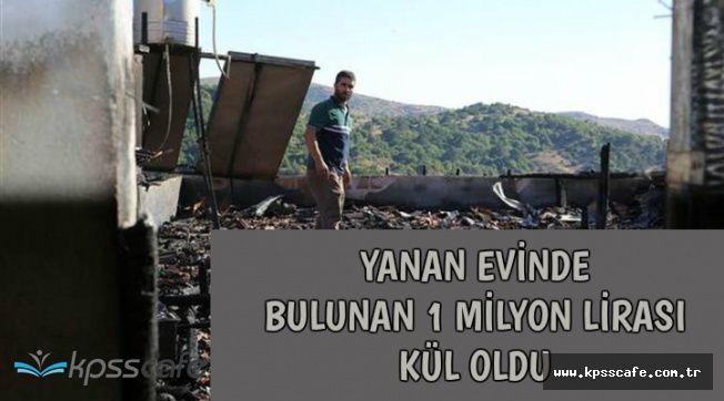 Kurban Satışından Kazandığı 1 Milyon Lirası Yangında Kül Oldu