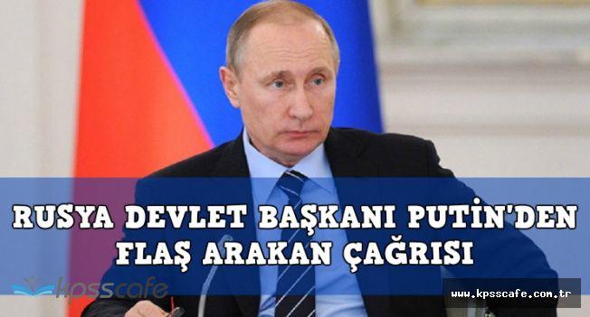 Putin'den Flaş Arakan Katliamı Açıklaması