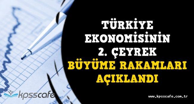 Son Dakika: Türkiye Ekonomisi 2. Çeyrek Büyüme Rakamları Açıklandı