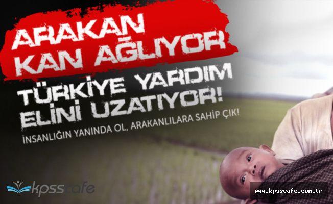 Başbakan Yardımcısı Akdağ'dan 'Arakan' Çağrısı ! 'Sms ile 10 TL Bağış Yapabilirsiniz'