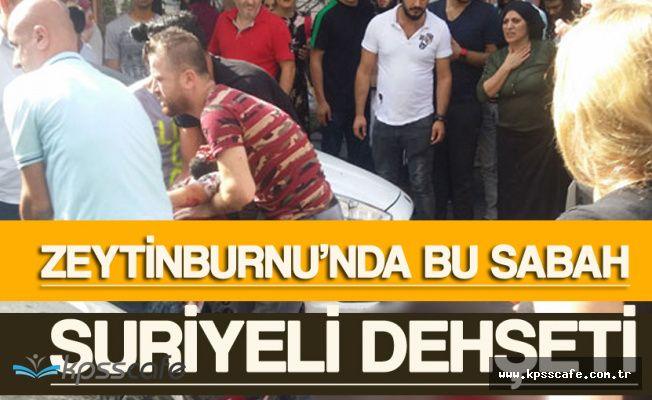 Zeytinburnu'nda Suriyeli Dehşeti! Sokak Kan Gölüne Döndü