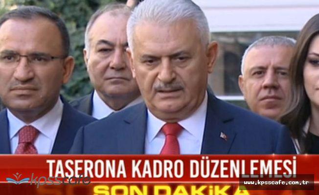Son Dakika! Başbakan'dan 720 Bin Taşerona Kadro Açıklaması Geldi