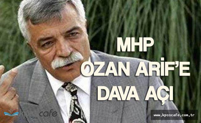 Ozan Arif'e Devlet Bahçeli'ye Hakaret Ettiği Gerekçesiyle Dava Açıldı