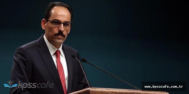 İbrahim Kalın'dan Son Dakika IKYB Bağımsızlık Referandumu Açıklaması