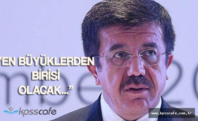 """Ekonomi Bakanı Zeybekçi :"""" Alipay Yakında En Büyüklerden Birisi Olacak"""""""