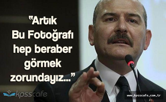 """Süleyman Soylu:"""" Türkiye Çok Ciddi Bir Mücadele İçerisinde"""""""