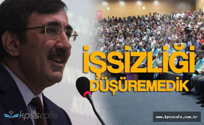 """AK Parti Genel Başkan Yardımcısı: """"İşsizliği Çok Düşüremedik"""""""