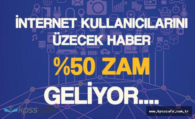 İnternetten Alınan Vergiye Yüzde 50 Zam Geliyor