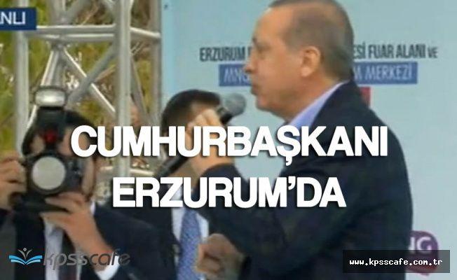 Cumhurbaşkanı Recep Tayyip Erdoğan Erzurum'daki Açılış Töreninde Konuştu