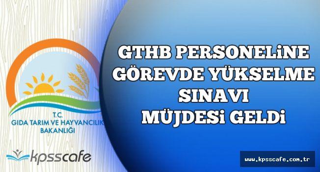GTHB Personeline Görevde Yükselme ve Unvan Değişikliği Sınavı Müjdesi Geldi