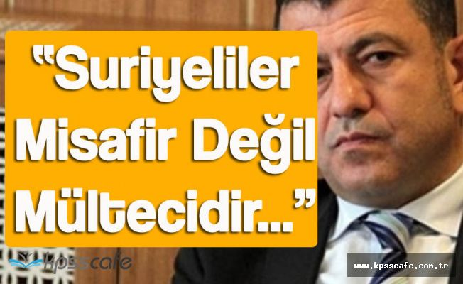 """CHP Genel Başkan Yardımcısı """"Suriyeliler Misafir Değil Mültecidir"""""""