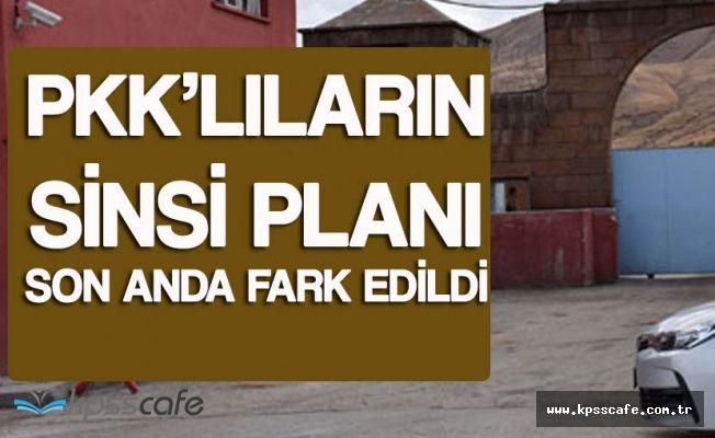 PKK'lılar Koğuştan Kaçmak için Tünel Kazdı