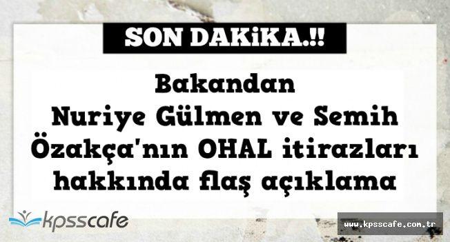 Nuriye Gülman ve Semih Özakça'nın OHAL İtirazı Hakkında son Dakika Açıklaması
