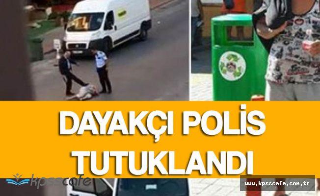 Antalya'da Turist Kadını Döven Polislerden Biri Tutuklandı