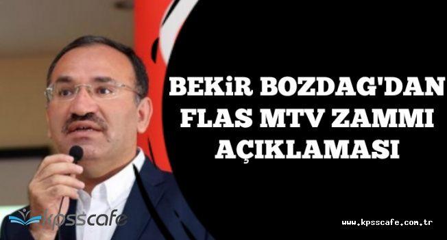 MTV Zammı Yüzde Kaç Seviyesine Çekilecek? Bakan'dan Son Dakika Açıklaması