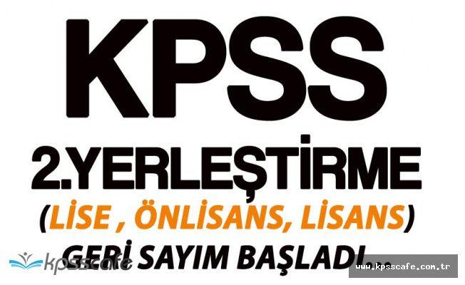 KPSS ile Lise, Önlisans, Lisans Mezunu Memur Alımları için Geri Sayım Başladı