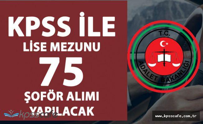 Cezaevlerine KPSS ile 75 Şoför Alınacak (En Az Lise Mezunu)