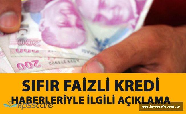 Türkiye Varlık Fonu'ndan Sıfır Faizli Kredi Haberleri Sonrası Açıklama