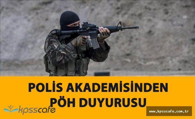 Polis Akademisinden Özel Harekat Duyurusu (19. Dönem Özel Harekat)