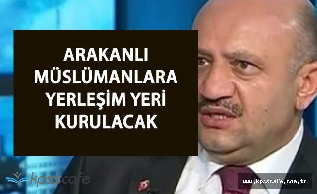 Türkiye Arakanlı Müslümanlar İçin Yerleşim Yeri Yapacak
