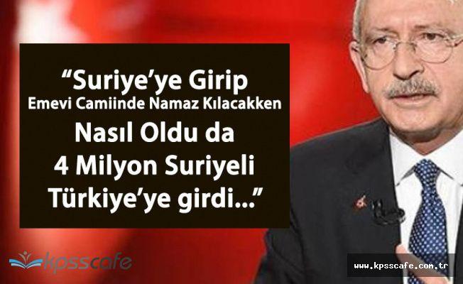 CHP Liderinden Cumhurbaşkanı'na 5 Soru