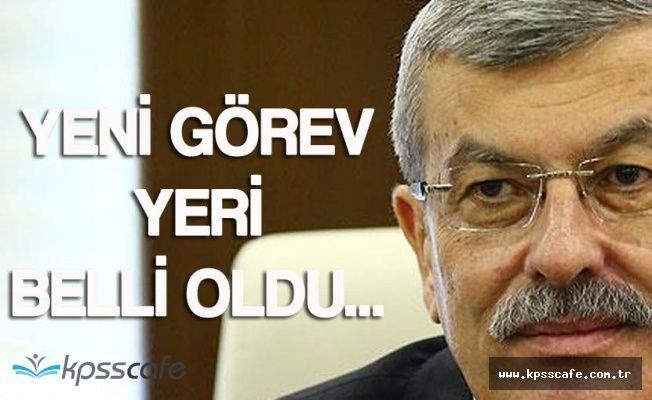 Adalet Bakanlığı Eski Müsteşarı Kenan İpek'e Yeni Görev