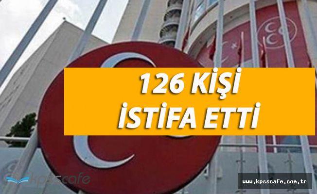 Kayseri'de 126 Kişi MHP'den İstifa Etti