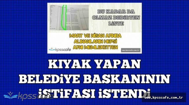 Bursa Büyükşehir Belediye Başkanının İstifası İstendi