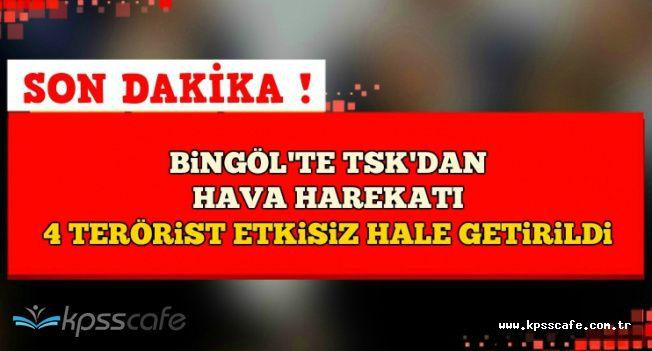 Son Dakika: Bingöl Genç'te 4 PKK'lı Terörist Etkisiz Hale Getirildi