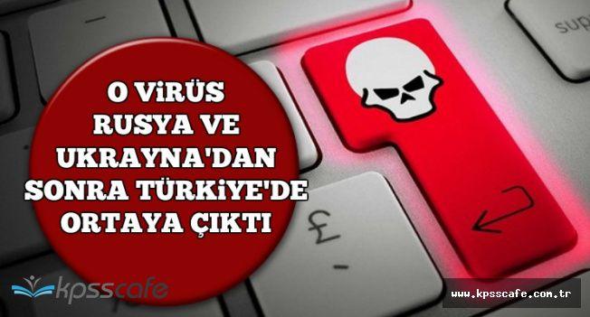 Bad Rabbit Virüsü Türkiye'de-Bilgisayarı Ele Geçirip 48 Saat Mühlet Veriyor