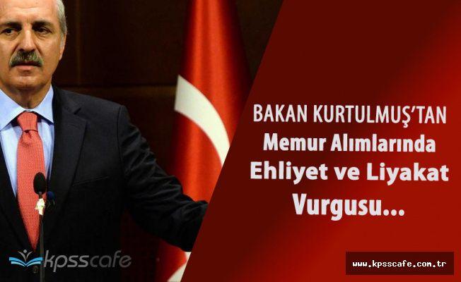 Kültür Bakanı'ndan Memur Alımlarıyla İlgili Önemli Açıklama 'Boynumuzun Borcudur'