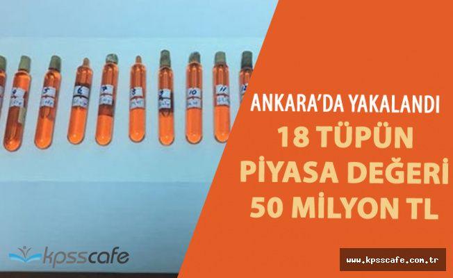 Ankara Polisinden Başarılı Operasyon! Piyasa Değeri Şok Etti