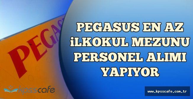 Pegasus Farklı Pozisyonlara En Az İlkokul Mezunu Çok Sayıda Personel Alıyor