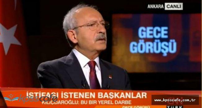 Kılıçdaroğlu'ndan Canlı Yayında Melih Gökçek Açıklaması