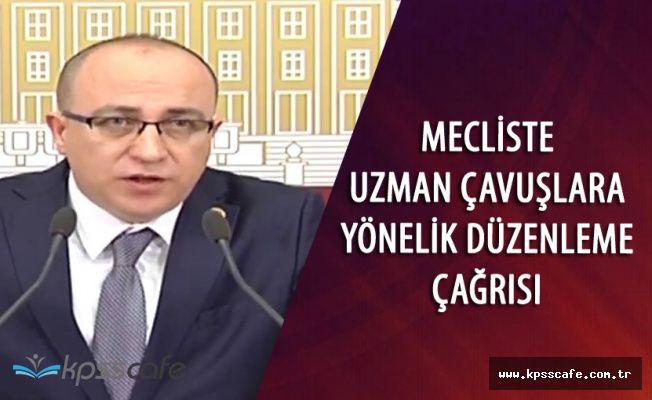 """İzzet Ulvi Yönter : """"Uzman Çavuşların Sorunlarını Çözelim"""""""