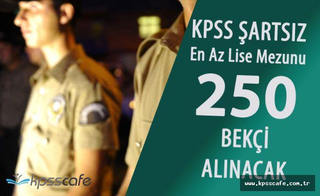Samsun Valiliği KPSS Şartsız En Az Lise Mezunu 250 Bekçi Alımı ! (Hangi İlçelere Yapılıyor?)