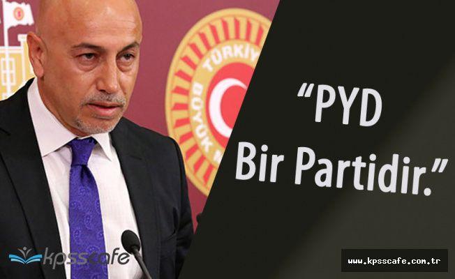 """CHP'li Aksünger :"""" PYD Partidir, Demirtaş'sız Çözüm Olmaz"""""""