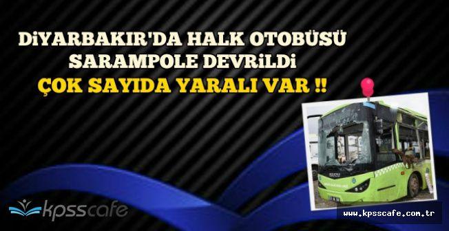 Diyarbakır Lice Karayolunda Feci Kaza: Çok Sayıda Yaralı Var