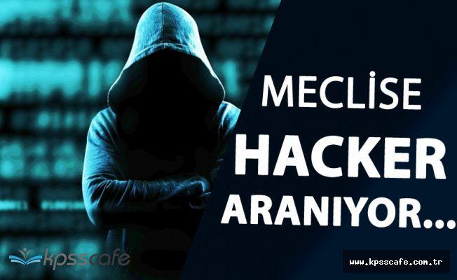 TBMM 'Beyaz Şapkalı Hacker' Alacak