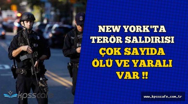 New York'ta Terör Saldırısı: İşte Bilanço ve Bölgeden Gelen Görüntüler