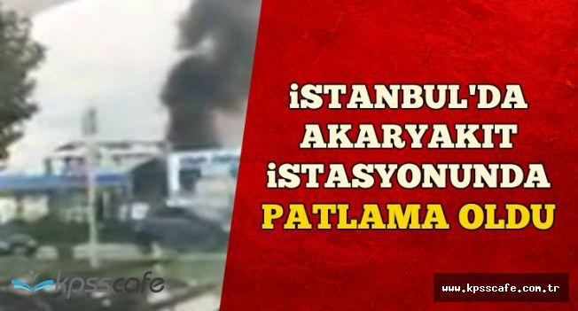 Son Dakika: İstanbul Tuzla'da Bir Benzincide Patlama Oldu