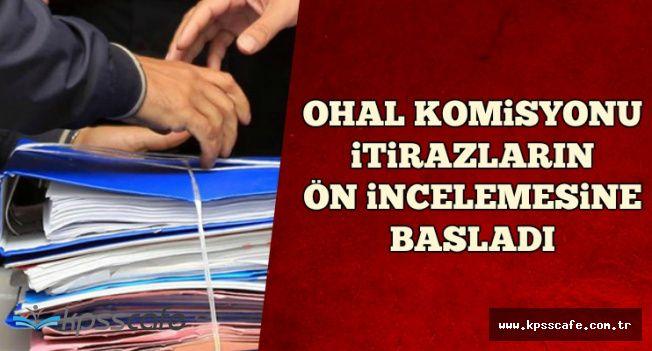 OHAL Komisyonu İtirazların Ön İncelemesine Başladı