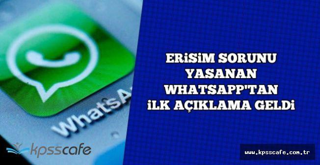 WhatsApp'tan İlk Açıklama Geldi-WhatsApp'ta Çökme Sorunu Nasıl Çözülür?