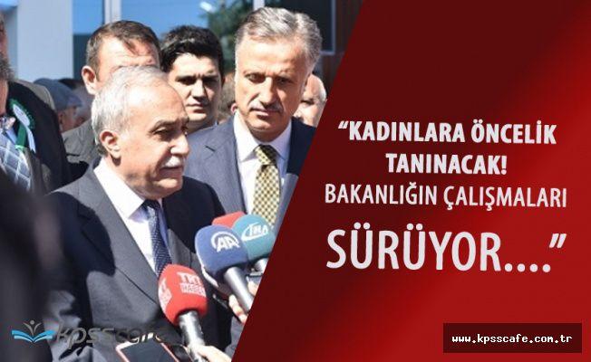 Bakan Fakıbaba'dan Fakir Ailelere Müjdeli Haber Geldi!