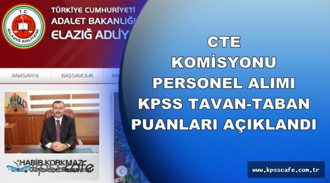 Elazığ Komisyonu KPSS Taban-Tavan Puanları Açıklandı (İKM, Katip, Şoför)