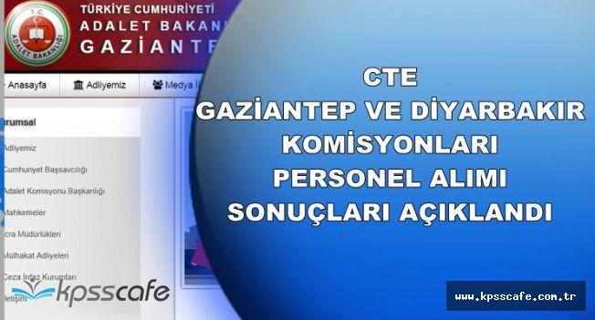 CTE Gaziantep ve Diyarbakır Personel Alımı Sonuçları Açıklandı (İKM Sonuçları)