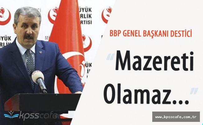 BBP Genel Merkezi 'Ankara'daki Hain Saldırıyı Takip Ediyor'