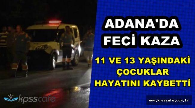 Adana'da Feci Kaza: 11 ve 13 Yaşındaki İki Kardeş Kamyonun Altında Kaldı