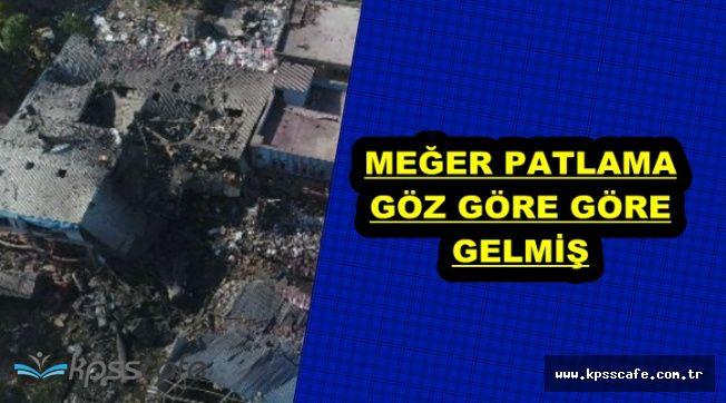 Bursa Gürsu'daki Patlama İle İlgili Flaş Detay: Meğer Göz Göre Göre..