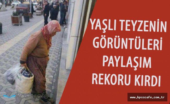 Ankaralı Yaşlı Teyzenin Görüntüleri Yürekleri Dağladı! Sosyal Medyada Paylaşım Rekoru Kırdı